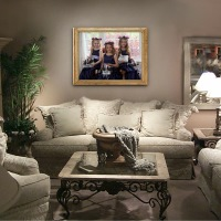 Adequate Sized Wedding Day Bridal Portraits make excellent wall decor for your home. The ultimate compliment to your Wedding Photographer Chicago